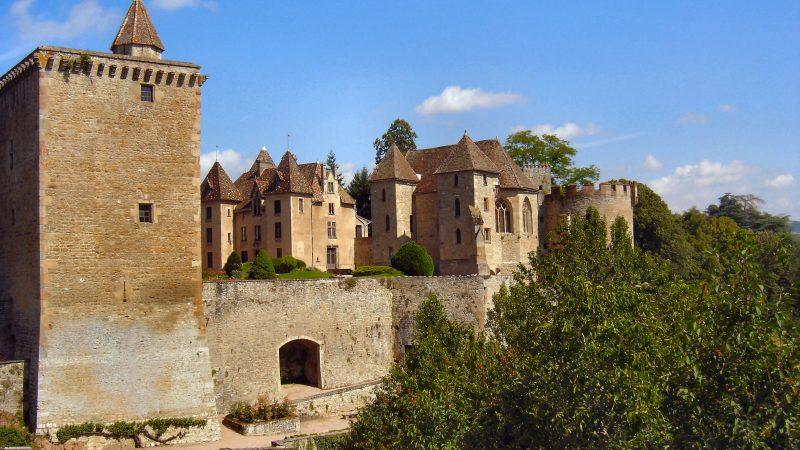 4 châteaux emblématiques de Sâone et Loire